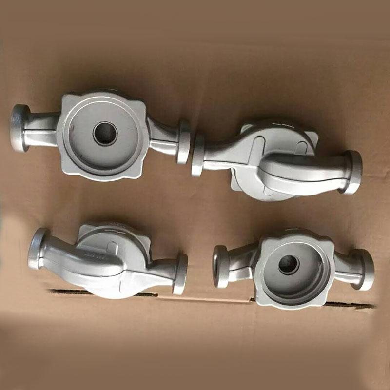 Pump cover impeller housing